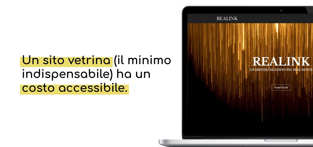Realink Sito Vetrina