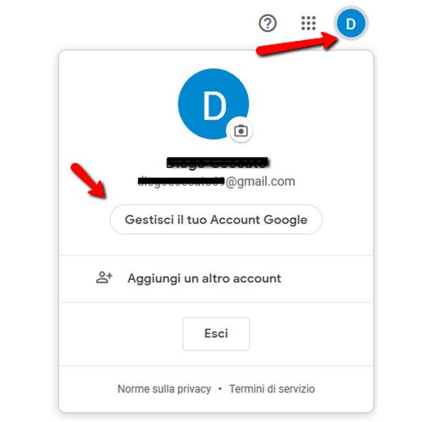Autenticazione a due fattori Google attivazione