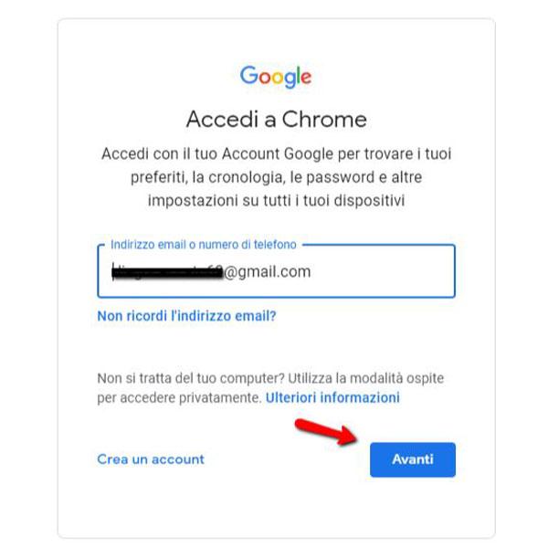 Autenticazione a due fattori app google authenticator sincronizzazione 2